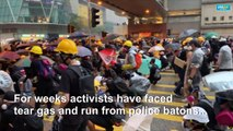 Love in a time of tear gas politics and romance on Hong Kong's barricades