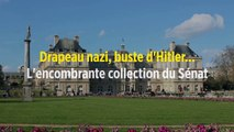 Drapeau nazi, buste d'Hitler... L'encombrante collection du Sénat