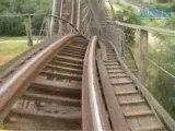 ANACONDA  montagne russe looping  roller coaster