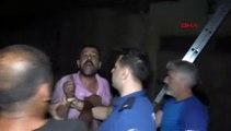 Adana'da erkek terörü: Eski eşi, çocuğu ve kendisi evdeyken binayı ateşe verdi
