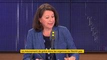 """Grève aux urgences : """"On va installer une vidéo-assistance dans tous les Ehpad avec le Samu pour qu'il y ait des conseils avec les infirmiers sur place"""", détaille Agnès Buzyn"""