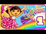 Dora the Explorer: Dora Saves the Crystal Kingdom Part 1 (Wii, PS2) The Storybook - Yellow