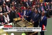 Reino Unido: diputados británicos toman control del Parlamento para bloquear el Brexit