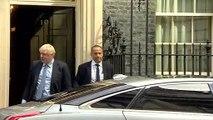 Boris Johnson departs Downing Street for Parliament