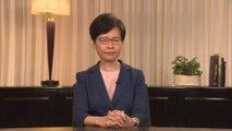 Hong Kong: la cheffe de l'exécutif annonce le retrait du projet de loi controversé sur les extraditions vers la Chine