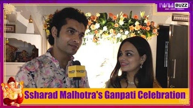 Exclusive: IWMBuzz celebrates Ganesh Chaturthi with Ssharad Malhotra