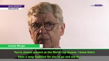 I could manage at the 2022 World Cup - Wenger