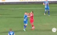 Quand un joueur serbe profite d'une blessure pour aller marquer un but pas fair-play !