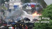 Hong Kong annonce le retrait du texte controversé