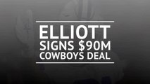 BREAKING NEWS: Cowboys and Elliott agree to $90m contract extension