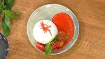 Burrata et salade de tomates
