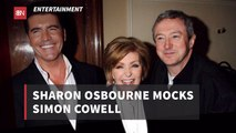 Sharon Osbourne Teases Simon Cowell