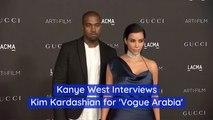Kim K's Interview For Vogue Arabia