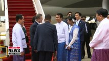 Pres. Moon seeks greater economic ties with Myanmar through joint industrial complex