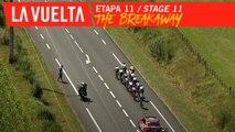 L'échappée / The breakaway - Étape 11 / Stage 11 | La Vuelta 19