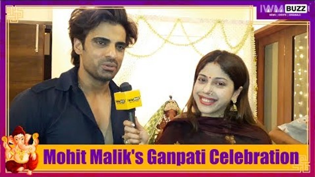 Exclusive: IWMBuzz celebrates Ganesh Chaturthi with Mohit Malik