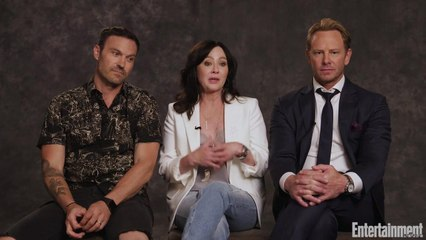 How the Cast of 'BH90210' Honors Luke Perry
