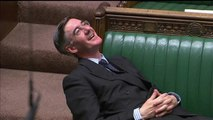 Jacob Rees-Mogg: UK minister criticised over posture during Brexit debate
