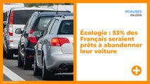 Écologie : 53% des Français seraient prêts à abandonner leur voiture