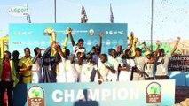 Portrait: Babacar Fall Meilleur but de l'équipe nationale de Beach soccer