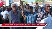 Kılıçdaroğlu ve İmamoğlu, İmranlı İlçesi'ni ziyaret etti