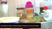 Cauchemar en cuisine : Philippe Etchebest choqué par l'état insalubre d'une cuisine (vidéo)