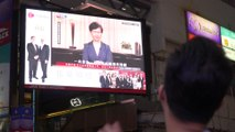 Hong Kong leader Carrie Lam pledges to formally withdraw extradition bill which sparked three months of protests