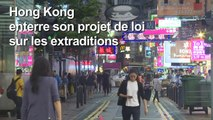 "Hong Kong: le retrait du texte arrive ""trop tard"" (Joshua Wong)"