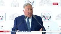 Institutions : « Pas question d'avoir un débat parlementaire tronqué » prévient Gérard Larcher