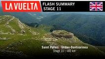 Flash Summary - Stage 11 | La Vuelta 19