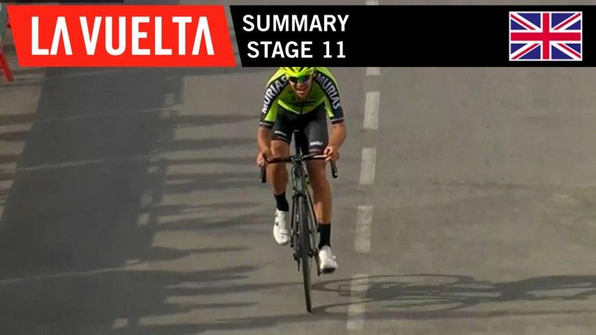 Summary - Stage 11   La Vuelta 19