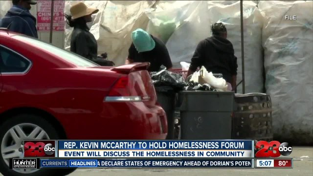 Rep. Kevin McCarthy to hold homelessness forum in Bakersfield