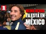 Memo Ochoa ya está en México para reportar con América | Récord