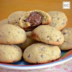 Cookie recheado com Nutella®   Receitas Guia da Cozinha
