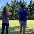 Demande en mariage.. en entraînement de chasse au Cerf !