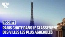 Paris perd six places dans le classement des villes les plus agréables