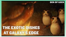 Star Wars: Galaxy's Edge | The Exotic Dishes at Black Spire