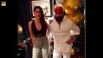 Kareena Kapoor Celebrates Saif Ali Khan BIRTHDAY _ Sara Ali Khan _ Karisma Kapoor