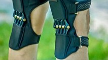 Spring Loaded POWER LEG Knee Joint Support Pads