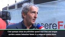 GP d'Italie - Prost sur la rivalité Vettel/Leclerc : ''Les médias soutiennent toujours le jeune pilote qui arrive''