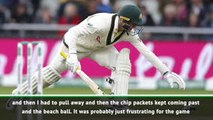 No bails a new experience for Labuschagne
