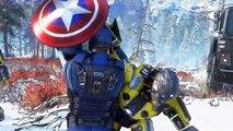 "MARVEL'S AVENGERS ""Captain America"" Bande Annonce de Gameplay"