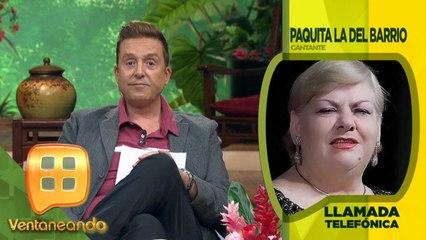 ¡PUEDE SOLA! Paquita la del Barrio no teme que la dejen plantada en su concierto.   Ventaneando