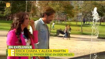 Érick Chapa y Alexa Martín tendrán su primer bebé     Ventaneando