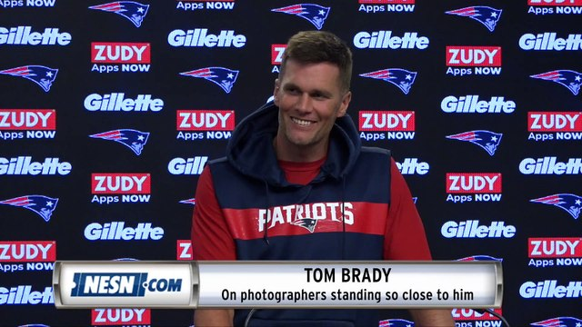 Tom Brady Was All Jokes At Patriots-Steelers Press Conference