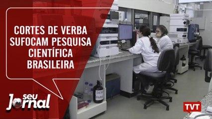 Cortes de verba sufocam pesquisa científica brasileira
