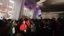 Protes Suporter Garuda di Pintu VVIP SUGBK Berakhir Ricuh