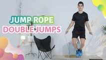 Jump rope double jumps - Step to Health