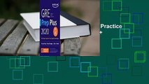 [GIFT IDEAS] GRE Prep Plus 2020: Practice Tests + Proven Strategies + Online + Video + Mobile