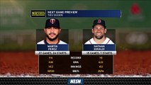 Nathan Eovaldi Takes Hill As Red Sox Look To Take Series Finale Vs  Twins